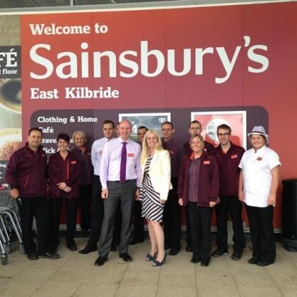 Partnership with Sainsbury's