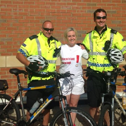 Bikes supplied to the local community police officers by the Trust