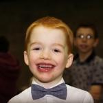 Alfie  smiling!