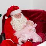 Santa and baby Lilly