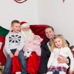 Santa and the McDonald family