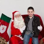 Santa and cameron