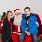 Santa with charlie and Max McGhie