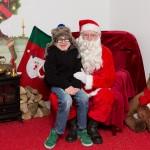 Jordan and Santa