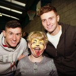 Fun with the rangers football players
